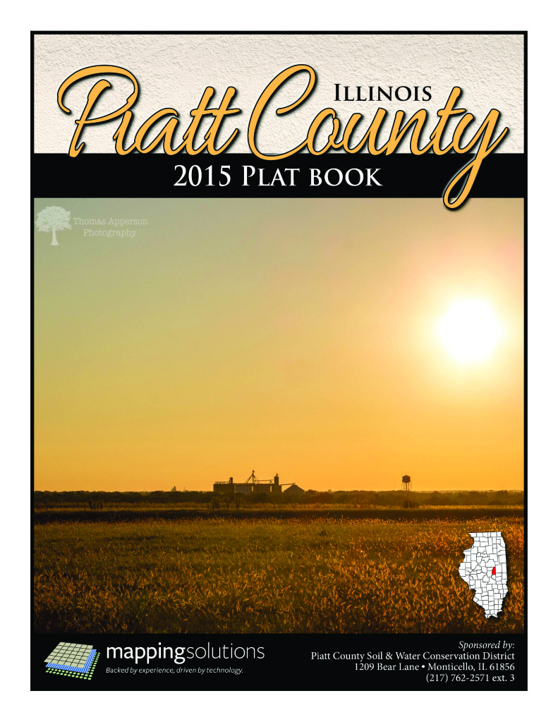 Illinois piatt county monticello - Piatt Il Cover